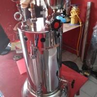 Setrika Uap Gas Quriomoto 15 liter