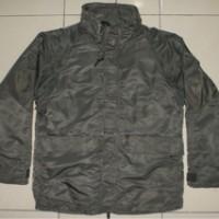 ALPHA INDUSTRIES ECWS Green Military Parka Jacket