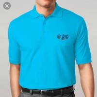 baju Tshirt polo kerah BANK BTN TERBARU.