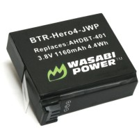 Wasabi Power Hero4 Battery for GoPro HERO4