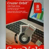 Sandisk Flashdisk 8 Giga Byte Cruzer Orbit - 100% Original Diskon  Ha