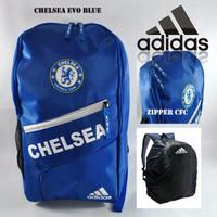 Tas Ransel Adidas Chelsea Evo Blue Free Rain Cover GXD5
