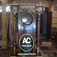 Ammari jam hias masjid