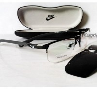 Jual Frame Kacamata Minus, Kaca mata Sporty ( NIKE + Clip-On Polarized ). Murah