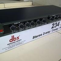 Crossover aktif DBX-234/234XL(original garansi resmi)