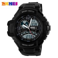 Jam Tangan Pria SKMEI Casio Men Sport LED Watch Water Resistant