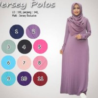 manset gamis jersey polos