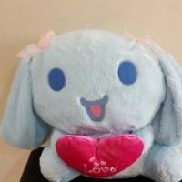 Boneka Cinnamoroll blue