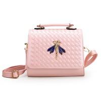 harga Tas Wanita Import C91625 Pink Motif Anyam Tinkerbell Sling Bag H&m Tokopedia.com