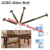 JC-BC Bolt/Baut Ligna M6 X 100mm