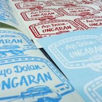 Stiker Dolan Ungaran