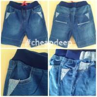 Celana Pendek Jeans Denim Anak Laki Laki Cowok Branded Joger