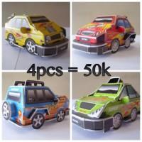 3D Puzzle Racing Series Mainan Edukatif Mudah Tanpa Perlu Alat Bantu