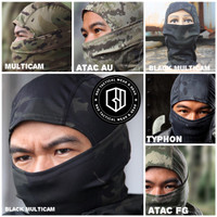 masker full face military airsoft balaclava rattlesnake 100% import