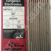Tungsten Electrodes 2,4mm Weldcraft