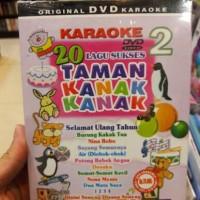 DVD KARAOKE ANAK ANAK - 20 LAGU SUKSES TK VOL.2