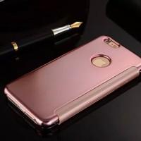Iphone 5 5s Flipcase Flip Mirror Cover S View Auto Lock Casing Hp