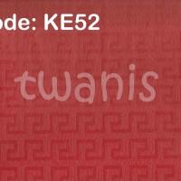KERTAS KADO EKSKLUSIF / FANCY PAPER CRAFT - MERAH KE52