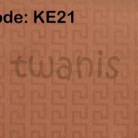 KERTAS KADO EKSKLUSIF / KERTAS EMBOSS / FANCY PAPER CRAFT - ORANYE KE2