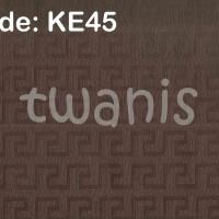 KERTAS KADO EKSKLUSIF / FANCY PAPER CRAFT - COKLAT TUA KE45
