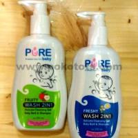 harga Pure Baby Wash 2 in 1 Bath & Shampoo Sabun Mandi Shampo Bayi 2in1 Tokopedia.com