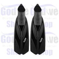 Alat Selam Godive FS-04 Snorkeling Scuba Diving Fins Full Heel - Hitam