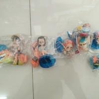 Figure Set One Piece Nami, Franky, Luffy, Robin, Chopper and Friend