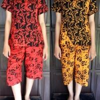 Harga setelan celana abg setalan batik batik huza setalan celana 3 | Hargalu.com