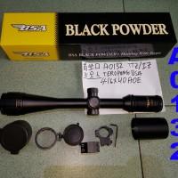 harga BSA 4-16x40 AO Lampu Hijau dan Merah Teropong Senapan Tokopedia.com