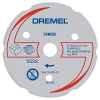 Multi Purpose Carbide Wheel Dsm500 For Dremel Saw Max