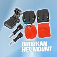 harga Dudukan Helm Mount Gopro Hero Helmet Xiaomi Yi Sjcam Brica Bpro - Gp19 Tokopedia.com
