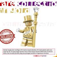 Lego Rare Collection, Pogo Mr Gold Minifigure Mini Figure