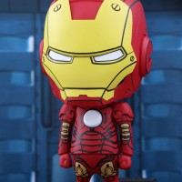 Hottoys Cosbaby Iron Man Mark III Comic Colour