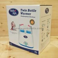 Penghangat Susu 2 Botol Baby Safe Twin Bottle Warmer and Sterilizer