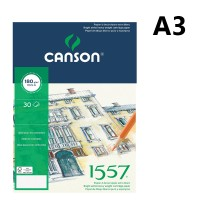 Canson 1557 Dibujo Drawing Pad A3 180gsm