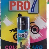 harga Cat semprot Black (hitam) cat pylox acrylic spray paint PRO-7 150cc Tokopedia.com