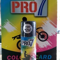 harga Cat semprot Metallic Silver cat pylox acrylic spray paint PRO-7 150cc Tokopedia.com