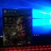 BD PS4 Attack on Titan