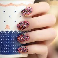 Kutek Kuku Butir-Butir / Nail Art Simple Mudah Digunakan BNL017 8AQY