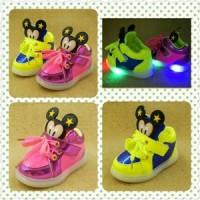 harga Sepatu Anak / Sepatu Bayi / Sepatu Lampu Anak / Sepatu Mickey LED Tokopedia.com