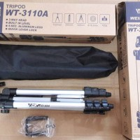 Tripod Weifeng WT-3110A Free Holder U For Smartphone HP Kamera DSLR