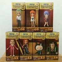 One Piece World Collectable Figure WCF Gold Vol.2 Set of 7