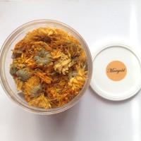 harga Bunga Marigold Kering, Teh Marigold / Dried Marigold, Marigold Tea Tokopedia.com