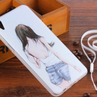 SILICON CASE OPPO FI PLUS / R9 GIRLS