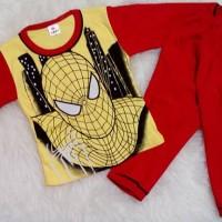 Piyama anak / stelan anak / baju tidur bayi / spiderman