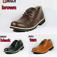 SEPATU ORIGINAL BUSCH LOWBOOT FOOTWEAR BROWN HITAM DAN TAN