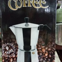 harga Moka Pot / Coffee Maker 9 cup Tokopedia.com
