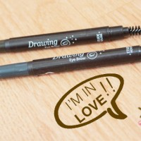 DRAWING EYEBROW ETUDE House Eye Brow + Brush (Pensil + Sikat )
