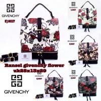 Tas Given Chy Flower Backpack|tas Wanita Import Tas Wanita Murah