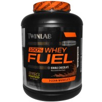 twinlab 100% whey protein fuel double chocolate #4794 2.27kg